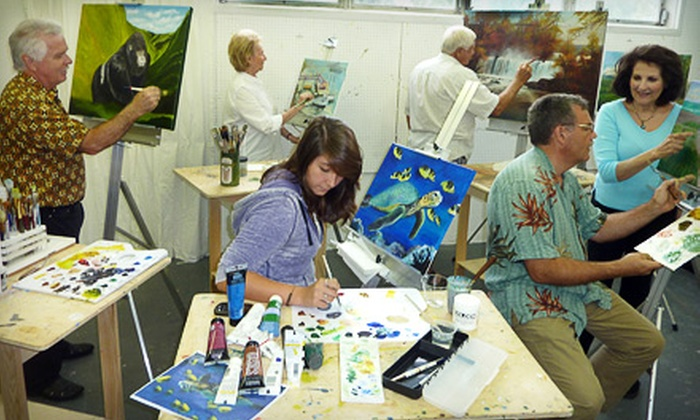 Lighthouse ArtCenter - Tequesta Garden Condominiums: Art Classes for Two, Three, or Four at Lighthouse ArtCenter's School of Art in Tequesta