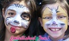Embellished Fun - Wichita: $95 for Two Hours of Face Painting and Glitter Tattoos from Embellished Fun ($190 Value)