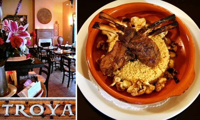 Troya - Inner Richmond: $15 for $30 Worth of Turkish Cuisine at Troya