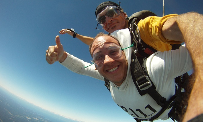 Skydive South Shore - Shirley: $149 for a Tandem-Skydiving Experience from Skydive South Shore, Inc. (Up to $269 Value)