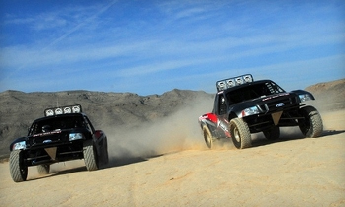 Vegas Off Road Experience - Henderson: Short-Course or Desert-Challenger Tour for One or Two at Vegas Off Road Experience in Boulder City (Up to 68% Off)