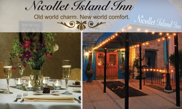 Nicollet Island Inn - Nicollet Island: $25 for $50 Worth of Fine Dining and Drinks at Nicollet Island Inn