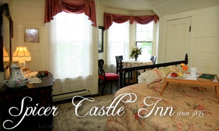 Spicer Castle Inn - Green Lake: $83 for a One-Night Stay at Spicer Castle Inn in Spicer (Up to $167 Value)