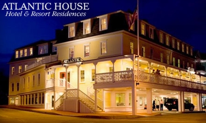 Atlantic House Hotel & Resort Residences - York: $129 for a One-Night Stay and Restaurant Voucher at Atlantic House Hotel & Resort Residences in York Beach, Maine