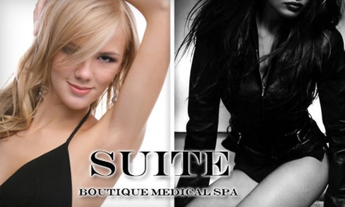 SUITE Boutique Medical Spa - 5: $99 for Six Laser Hair-Removal Treatments at Suite Boutique Medical Spa (Up to $1800 Value)