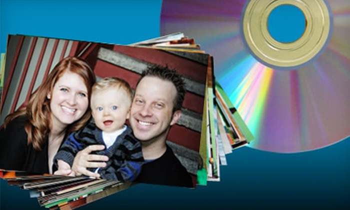 """ScanMyPhotos.com: $29 for 1,000 4""""x6"""" Photos Converted to DVD with Return Shipping Included from ScanMyPhotos.com"""