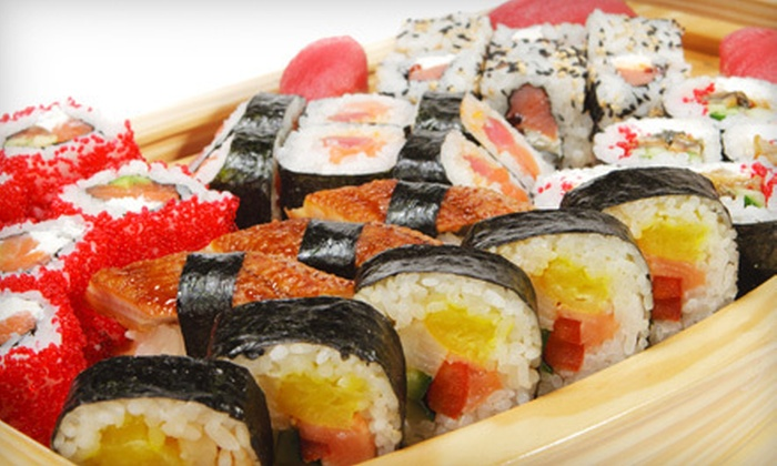 Ready to Roll - Midwood: Makimono Sushi Meal for Two or Sushi Takeout Platter for 12–14 at Ready to Roll in Brooklyn (Up to 58% Off)