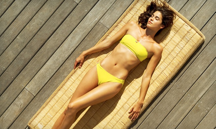 Bold Body Bronzing - University Area: One, Three, or Five Mobile Spray-Tan Sessions from Bold Body Bronzing (Up to 60% Off)