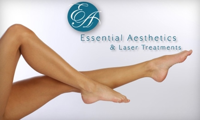 Essential Aesthetics - Danville: $150 for a Consultation and Two Spider-Vein Treatments at Essential Aesthetics in Danville ($500 Value)