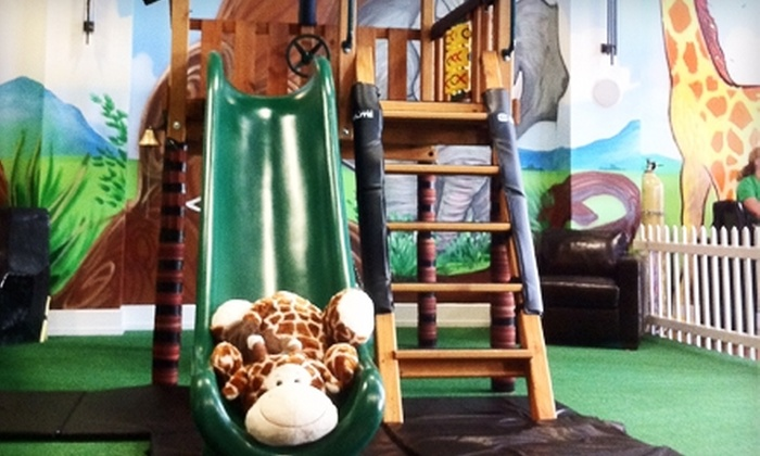Leaping Lizards - Olathe: $12 for Three Open-Play Passes to the Indoor Playground at Leaping Lizards in Olathe ($24 Value)
