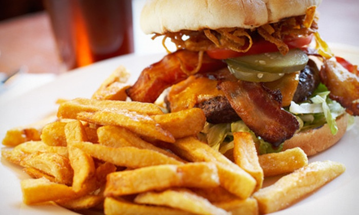 George Street Ale House - New Brunswick: Gastropub Fare and Drinks at George Street Ale House in New Brunswick (Up to 56% Off). Two Options Available.