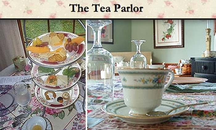The Tea Parlor - Liberty: $9 for Full Tea Service Including Fresh Fruit, Finger Sandwiches, Desserts, and More at The Tea Parlor ($18 Value)