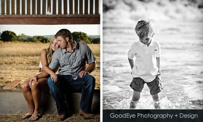 GoodEye Photography + Design - Santa Cruz / Monterey: $50 for One-Hour Photo Session and Five High-Resolution Digital Files at GoodEye Photography + Design ($650 Value)