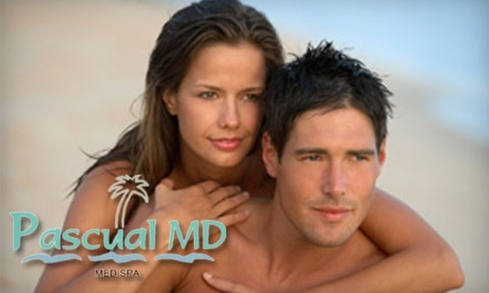 Pascual M.D. Med Spa - Multiple Locations: $99 for Six Laser Hair-Removal Treatments at Pascual M.D. Med Spa (Up to $500 Value)
