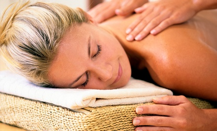 One or Three Massages with Optional Hot Stones or Aromatherapy at Amanda's Relaxation Station (Up to 60% Off)