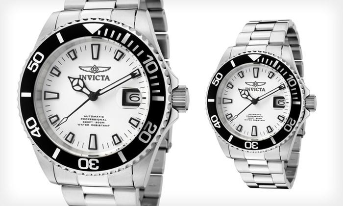 Invicta Men's Pro Diver Watch: $89.99 for an Invicta Men's Pro Diver Watch ($495 List Price). Free Shipping and Free Returns.