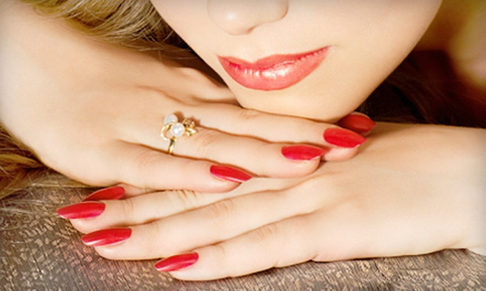 Merle Norman Luxe Spa & Salon - Fort Wayne: Three or One OPI Gel Manicures or Pedicures at Merle Norman Luxe Spa & Salon (Up to 53% Off)