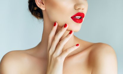 image for Gel Polish on Hands, Feet or Both or Acrylic Extensions at The Beauty Spot at Cutting Crew Salon (Up to 53% Off)