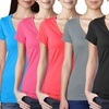 6-Pack of Sandra and Tiffany NY Women's V-Neck Shirts