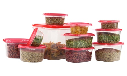 Plastic Food Storage Set (42-Piece)