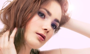 Porcelain Hair Studio: Haircut, Deep Conditioning or Color Treatment, and a Glass of Champagne at Porcelain Hair Studio (Up to 64% Off)