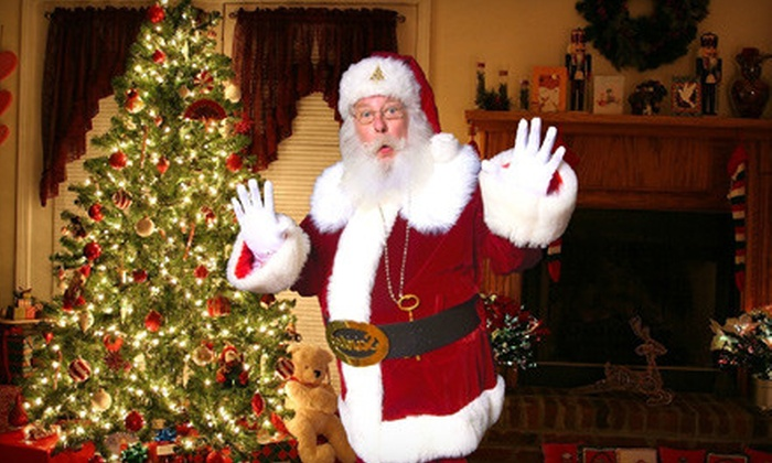 iCaughtSanta.com: $10 for a Santa Photo Package with Four Custom Images and One Video from iCaughtSanta.com ($24.98 Value)