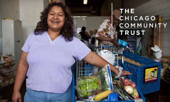 The Chicago Community Trust: Donate $5, $10, $25, or $50, With All Donations Matched, to The Chicago Community Trust's Unity Challenge to Combat Hunger in Chicago