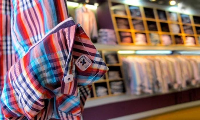 Jeremy Argyle - SoHo: $50 for $100 Toward Men's Shirts and Accessories at Jeremy Argyle