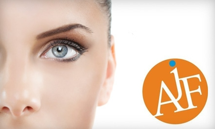 AJF Salons - East Sacramento: $29 for Three Brow Waxes ($60 Value) or $42 for a Bioelements Facial ($85 Value) at AJF Salon