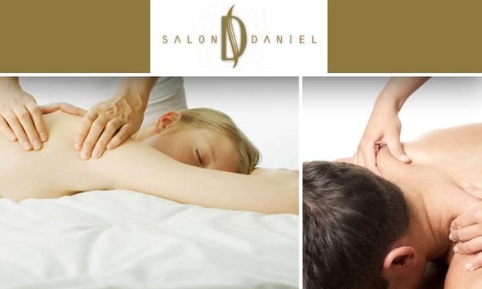 Salon Daniel - McLean: $45 Massage at Salon Daniel (Up to $125 Value)