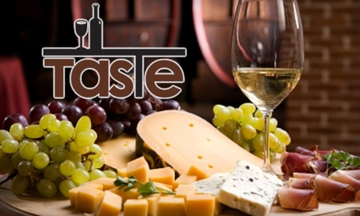 Taste - Warrington: $15 for a Two-Hour Wine & Food Pairing Class at Taste ($30 Value)