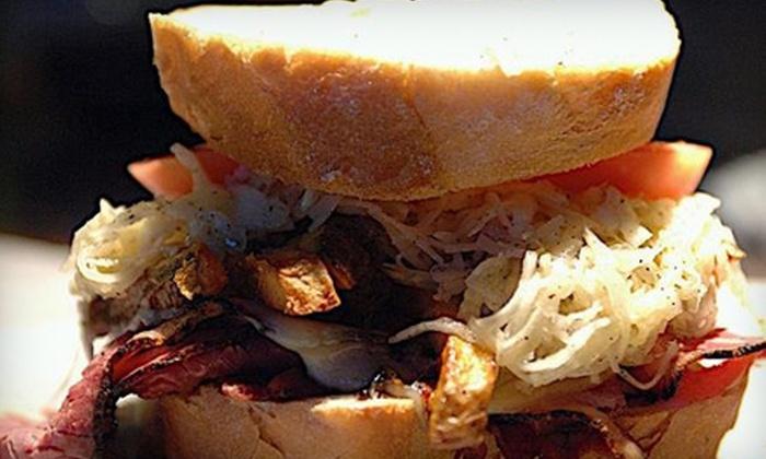 Piranha's Bar & Grill - Downtown Nashville: $15 for Pub Meal for Two at Piranha's Bar & Grill ($30 Value)