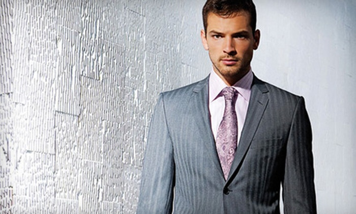 Premier Clothiers - Plano: $799 for a Custom-Tailored Suit from Premier Clothiers ($1,599 Value)