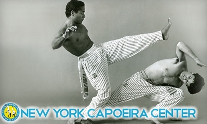 New York Capoeira - Lower East Side: $22 for Three Brazilian Capoeira Classes at the New York Capoeira Center ($45 Value)