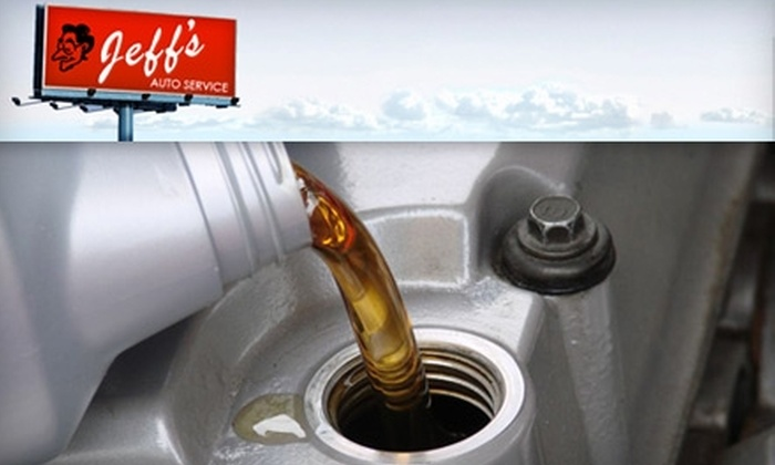 Jeff's Auto Service - Minneapolis / St Paul: $16 Oil Change and More at Jeff's Auto Service (a $38 Value)