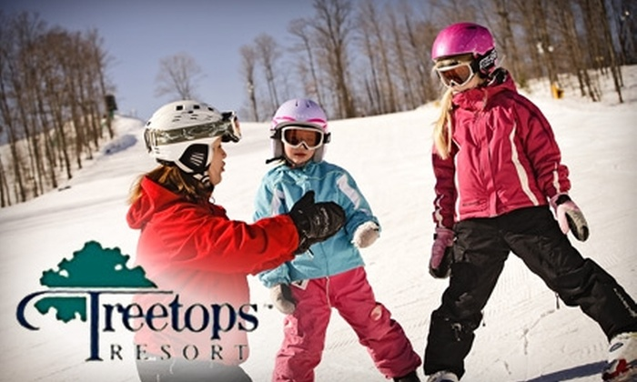 Treetops Resort - Dover: $59 for Two Lift Tickets and $24 Worth of Cuisine at Treetops Resort in Gaylord (Up to $128 Value)