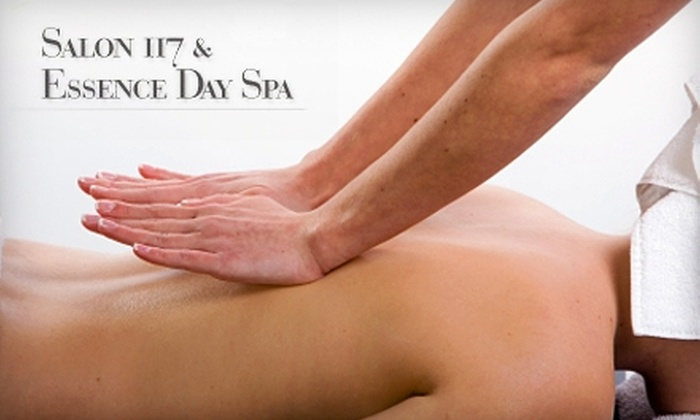 Salon 117 & Essence Day Spa - Chicago: $40 for a Combo Massage or $45 for $90 Worth of Services at Salon 117 & Essence Day Spa in Arlington Heights