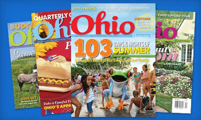 """Ohio Magazine"" - Columbus: Two- or Three-Year Subscription to ""Ohio Magazine"" (Half Off)"