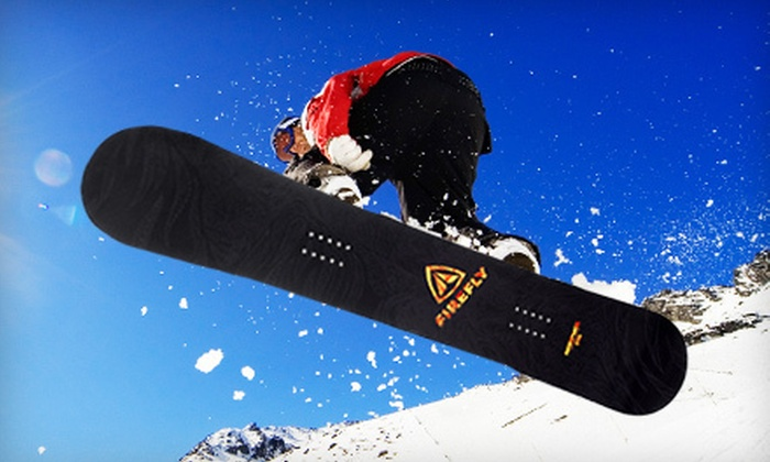 Firefly All-Mountain Snowboard: $99 for an Adult Firefly Rampage Snowboard ($239.98 Value). Three Sizes Available. Shipping Included.