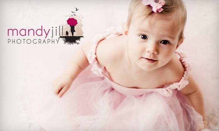 Mandy Jill Photography - Port Moody: $49 for 30-Minute Photography Shoot, Image Disc, and Three Prints from Mandy Jill Photography ($255 Value)