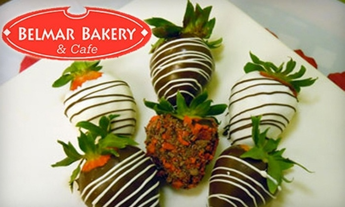 Belmar Bakery & Cafe - Amarillo: $6 for $12 Worth of Deli Sandwiches and More or $15 for a Chocolate-Covered-Strawberry Boxed Bouquet Arrangement ($29.99 Value) at Belmar Bakery & Cafe