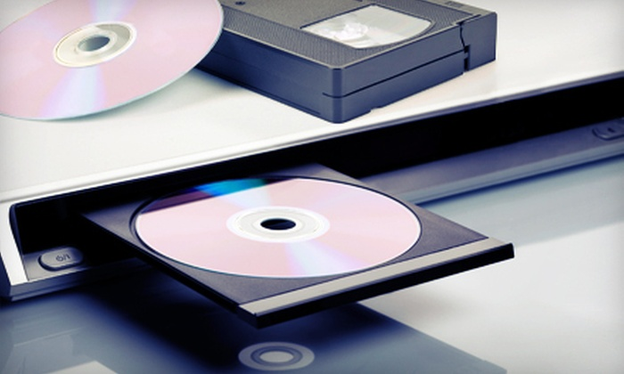 Memories In A Flash - Clayton Park West: Two or Four VHS-to-DVD Conversions at Memories in a Flash (Up to 56% Off)