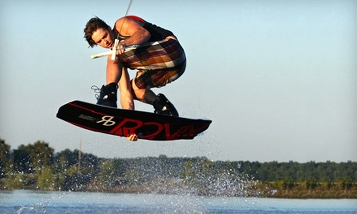 Ridebutter - Buckhorn: $50 for a Private One-Hour Wakeboard Lesson at Ridebutter in Holly Springs ($100 Value)