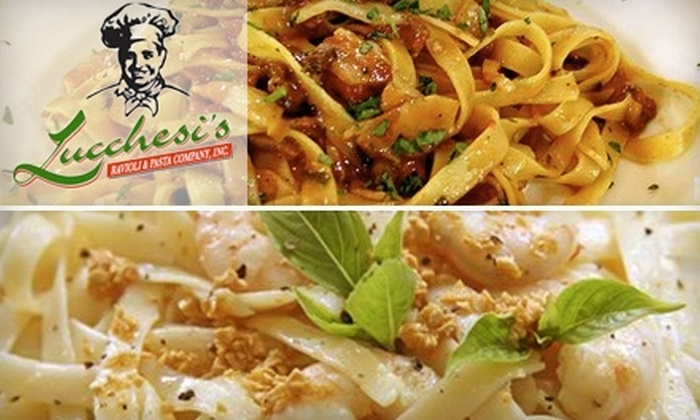 Lucchesi's Ravioli & Pasta Company - Memphis: $10 for $20 Worth of Traditional Italian Fare at Lucchesi's Ravioli & Pasta Company