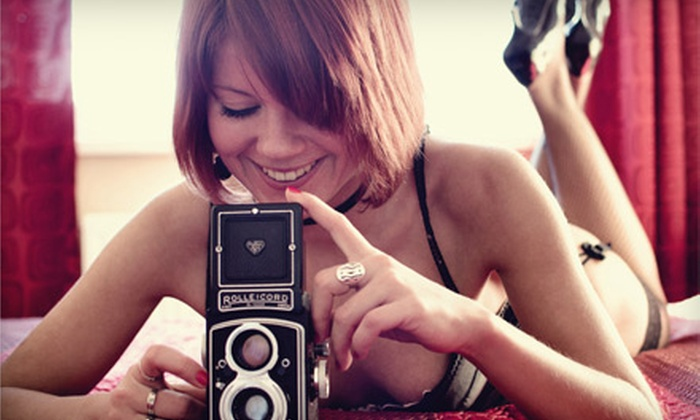 Clever Genius Media - Downtown Winston-Salem: $79 for a Boudoir Photo-Shoot Package and Digital Image CD with Retouched Photos from Clever Genius Media ($215 Value)