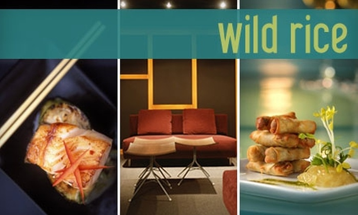 Wild Rice - Vancouver: $15 for $30 Worth of Modern Chinese Fare at Wild Rice