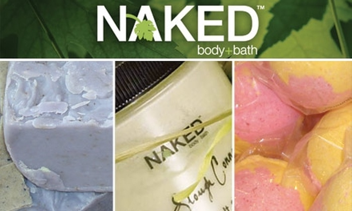 Naked Body + Bath - Houston: $25 for $59 Worth of Handmade Natural Foot-Care Products and Complimentary Foot Soak at Naked Body + Bath