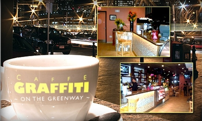 Caffe Graffiti - North End: $20 for $40 Worth of Italian Eats and Drinks at Caffe Graffiti