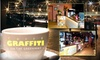 Caffe Graffiti - CLOSED - North End: $20 for $40 Worth of Italian Eats and Drinks at Caffe Graffiti