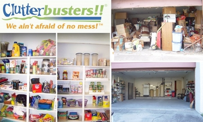 Clutterbusters!! - Washington DC: $85 for Two Hours of Home Organizing ($166 Value)
